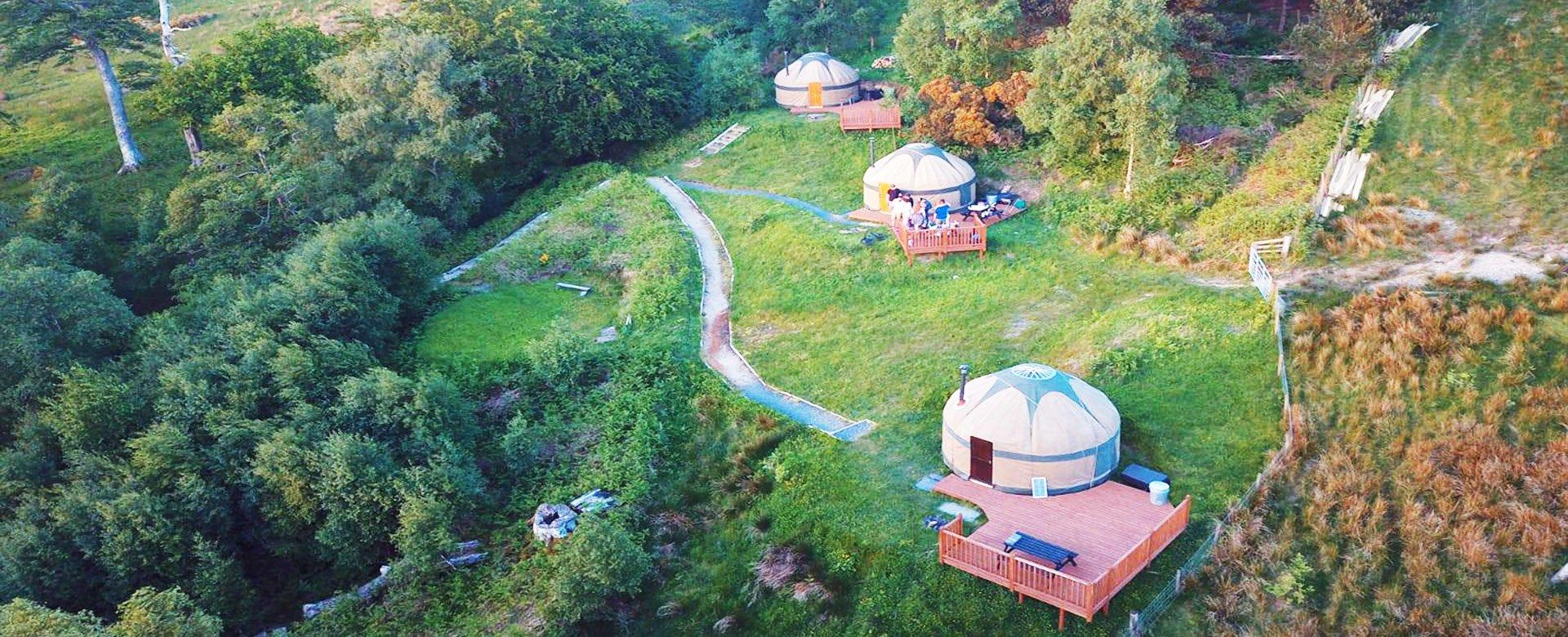 Kelburn Yurts